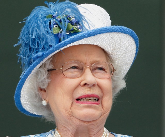 Yick! The Queen had a hilarious interaction with her kitchen staff after coming across a garden slug in her salad. *(Image: Getty)*