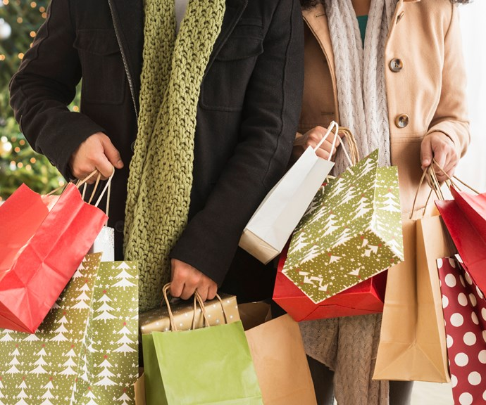If you've over-bought, put the pressies away to give on another occasion! *(Source: Getty Images)*