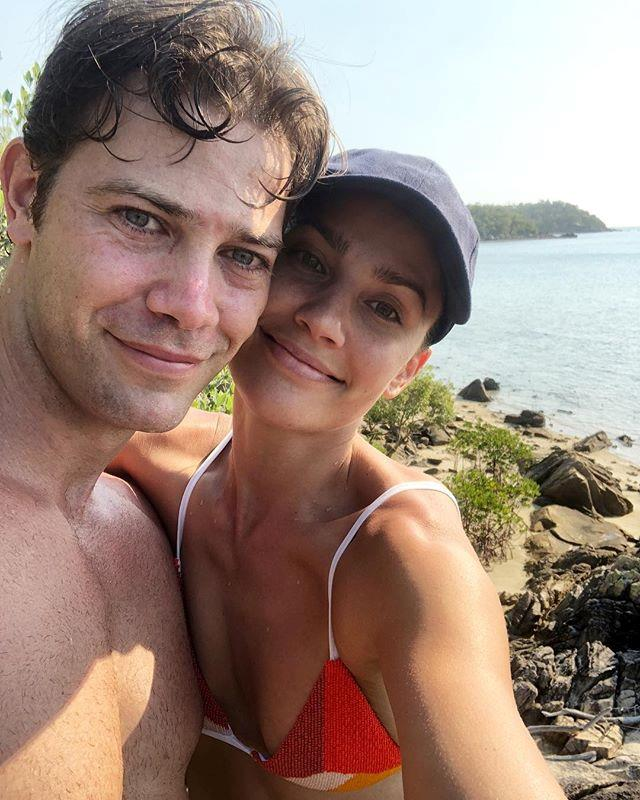 Rock-solid: The former *Dancing with the Stars* couple have been married for five years. *(Image: Instagram / @rachael_finch)*