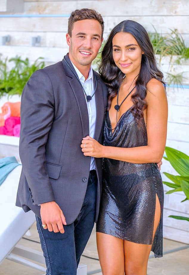 *Love Island Australia* winners Grant Kemp and Tayla Damir were rocked by reports he had a girlfriend on the outside. Their romance did not last.