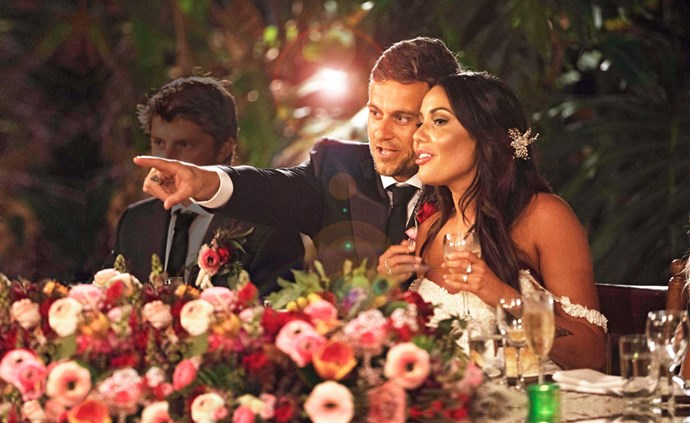 "Ryan Gallagher and Davina Rankin were part of the ""gold"" cast that made *MAFS* a hit in 2018."
