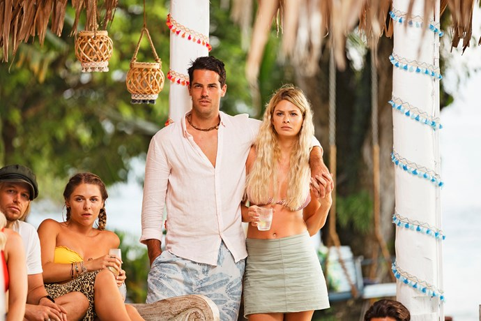 Jake Ellis and Megan Marx found love on *Bachelor In Paradise.*