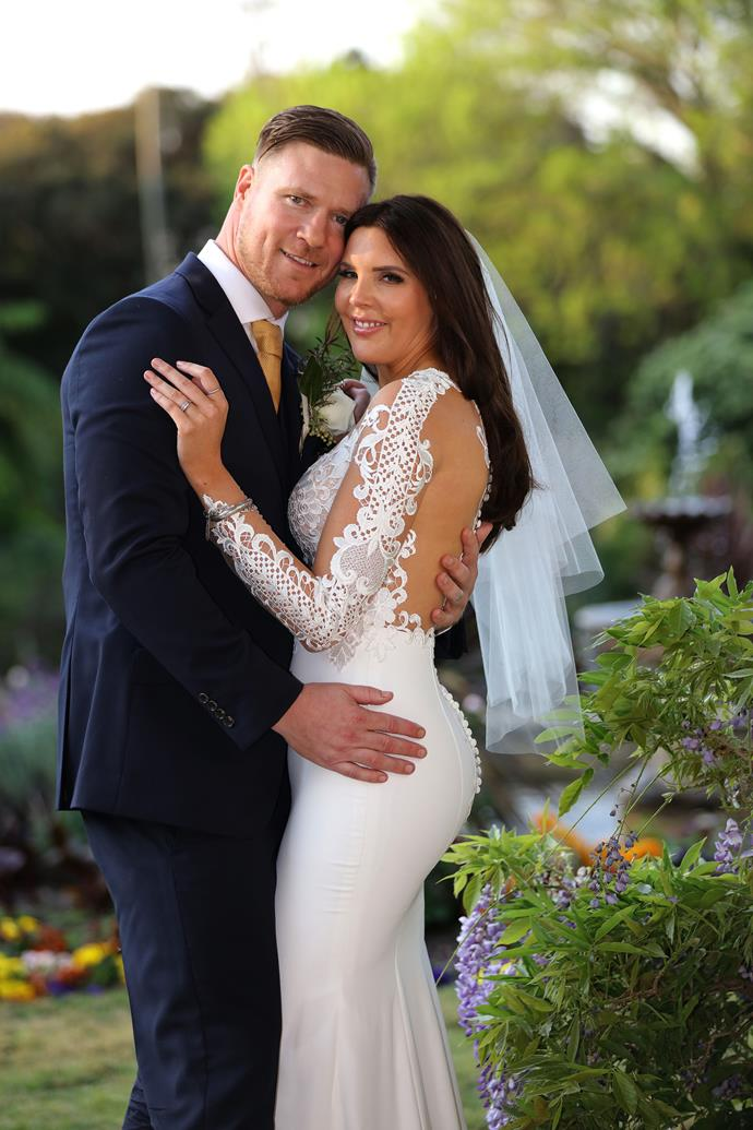 Tracey Jewel (with 'husband' Dean Wells) maintains she went on *MAFS* to find love.