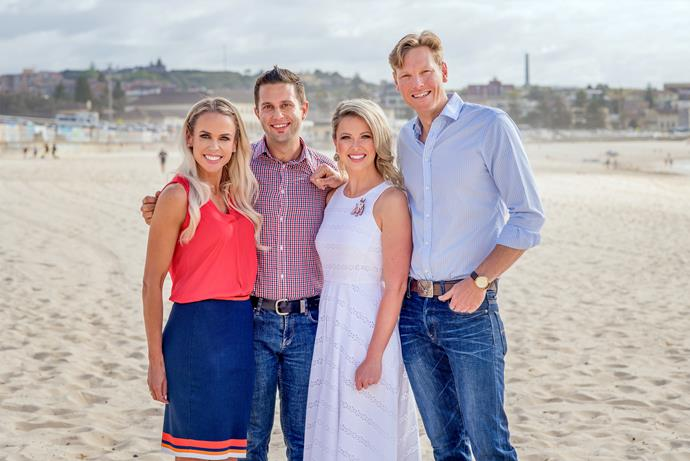 The new cast of Bondi Vet.