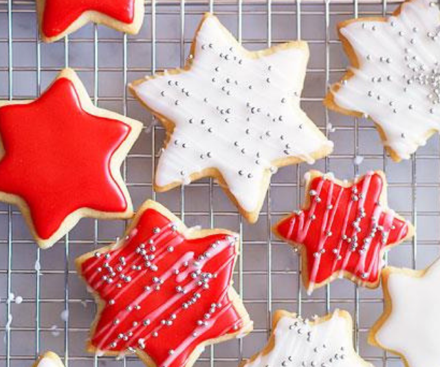 "**Australian Women's Weekly Decorated christmas cookies:** These simple decorated Christmas cookies are the perfect way to get little ones involved with ther gift to Santa, and they also make an ideal edible Christmas gift. [See the full recipe here.](https://www.womensweeklyfood.com.au/recipes/decorated-christmas-cookies-11515|target=""_blank""