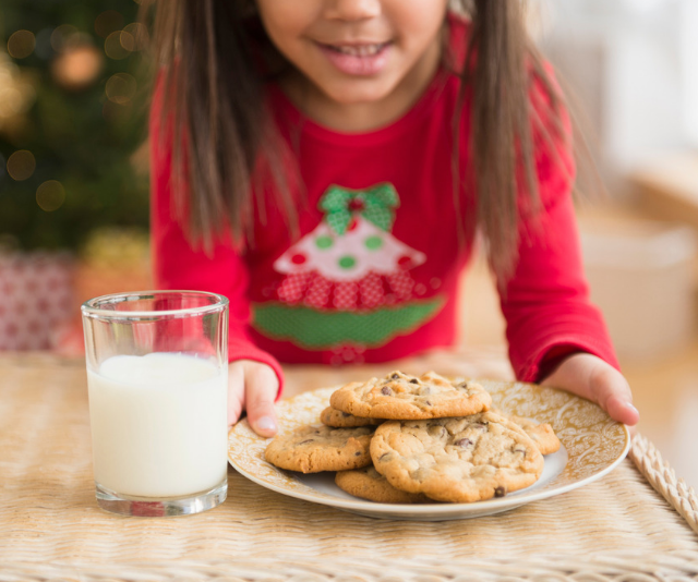 Homemade cookies for Santa are the stuff that memories are made of. *Image: Getty Images.*