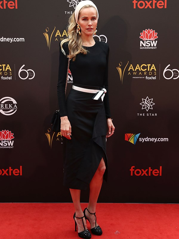 "From [*Home and Away*](https://www.nowtolove.com.au/tags/home-and-away|target=""_blank"") to Hollywood, it's so good to see Isabel Lucas back on home turf. *(Image: Media Mode)*"