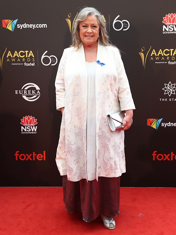Noni Hazlehurst is up for the Best Supporting Actress AACTA Award for her role in *Ladies in Black*. *(Image: Getty)*