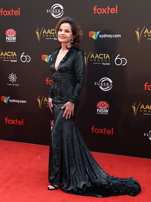 Glittering goddess Sigrid Thornton. *(Image: Getty)*