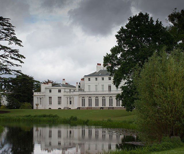The royal couple's new house sits in the same area as Frogmore House (pictured), which is where their wedding reception took place. *(Image: Getty)*