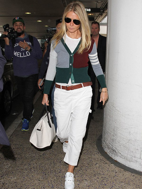 Gwyneth's a master of packing without checking luggage. *(Image: Getty Images)*