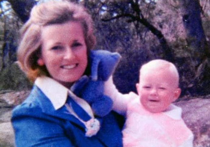 Lynn Dawson with one of her daughters.