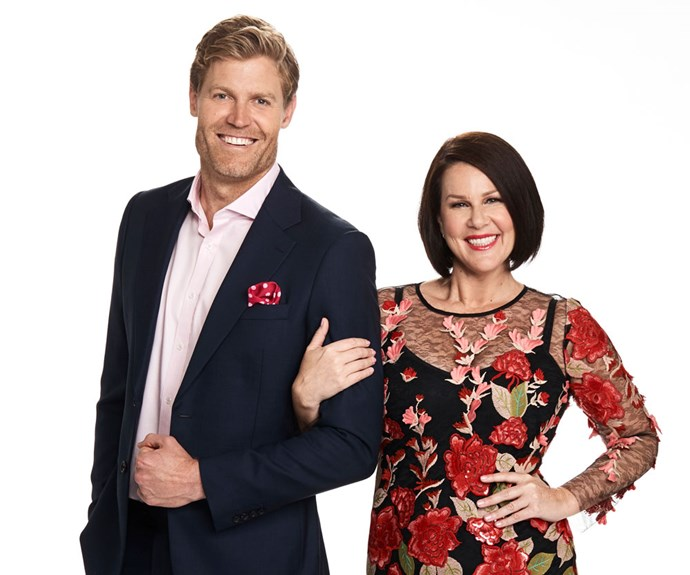 Chris Brown and Julia Morris are welcoming Beau Ryan to the *Sunday Night Takeaway* team.