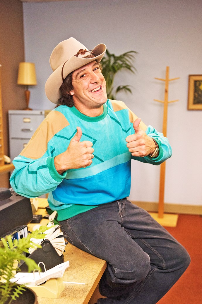 "Samuel as Ian ""Molly"" Meldrum in *Molly*."