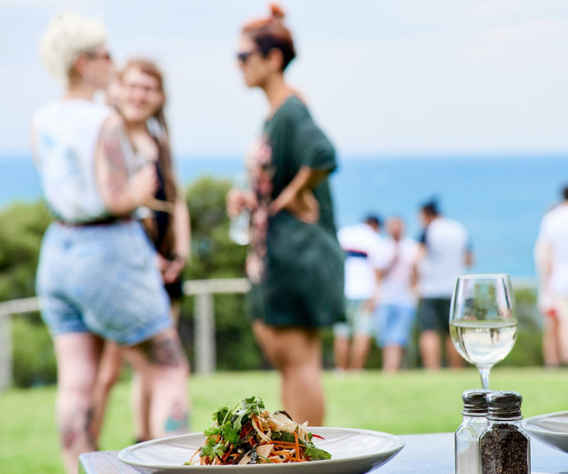 """**Portsea Hotel:** This seaside pub with plenty of room to run around is a favourite for families looking for a little weekend afternoon relaxation. With colouring-in packs, and delicious kids-size fish and chips on the menu, everyone is sure to be happy as you take in the glorious views of Port Phillip Bay and Queenscliff. Winning. *Image: [Portsea Hotel.](http://www.portseahotel.com.au/