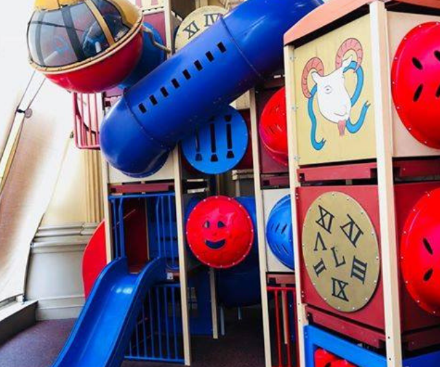 """**Moreland Hotel:** These guys have child-friendly nailed. A gigantic kids play zone including a toddler specific area with entertainment like face painting, magicians, silent discos and karaoke … I mean, can we move in? *Image: [Moreland Hotel.](https://www.morelandhotel.com.au/