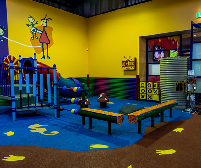 """**Zagame's Hotel: Y**ou can't do a kid-friendly pub round-up without including these guys because they have Kid's World! Perfect for children aged between 2 and 12 years-old, Kid's World is a colourful and adventurous play area, where kids can use up all those energies and climb, slide and play. *Image: [Zagame's Hotel](https://zagames.com.au/boronia/
