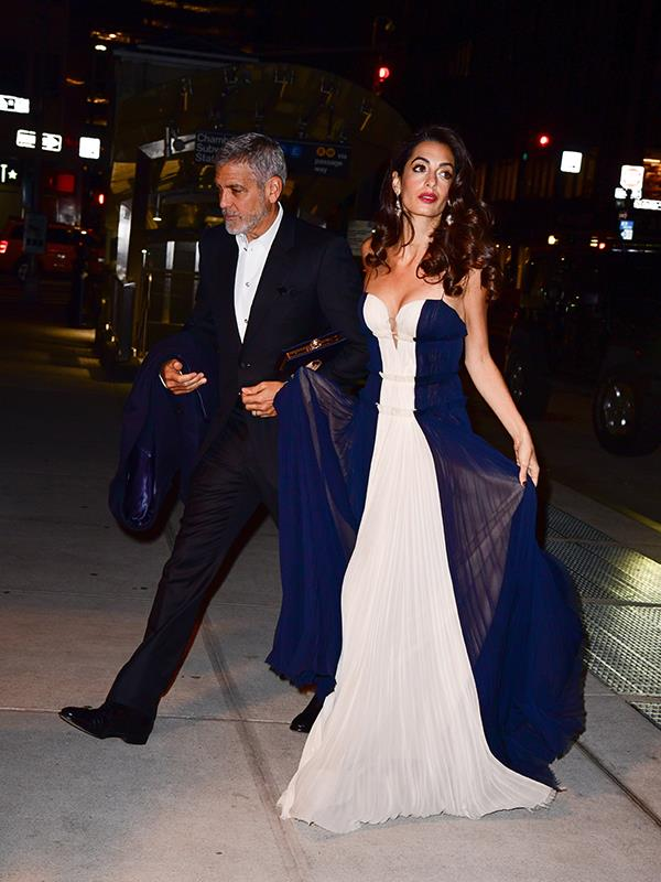George and Amal attended the United Nations Correspondence Association dinner in New York. *(Image: Getty Images)*