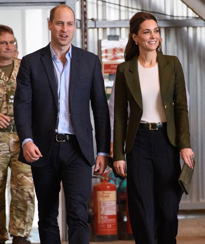 The Duke and Duchess in Akrotiri, Cyprus. *(Image: Getty)*