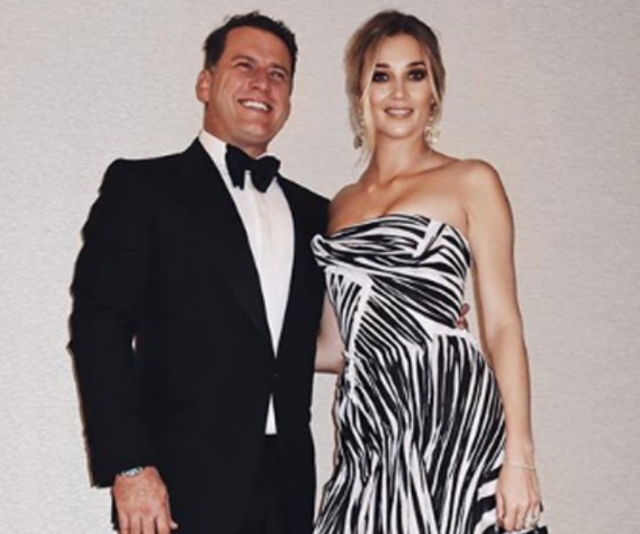 Karl Stefanovic and Jasmine Yarbrough's wedding is estimated to cost between $350,000 and $500,000. *(Source: Instagram)*