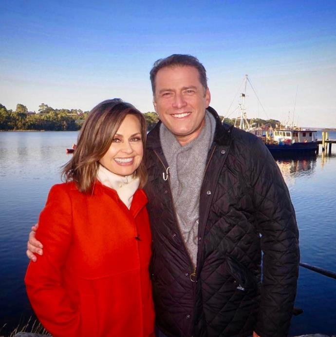 Karl and Lisa hosted *Today* together for 10 years. *(Image: Instagram @lisa_wilkinson)*