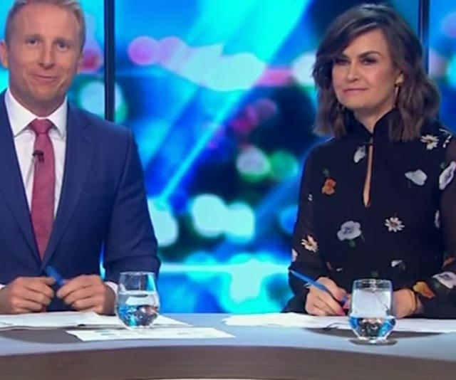 Lisa spoke candidly about Karl's wedding on *The Project*. *(Image: Network 10)*