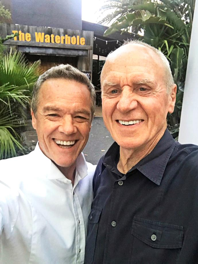 Stefan Dennis and Alan Dale.