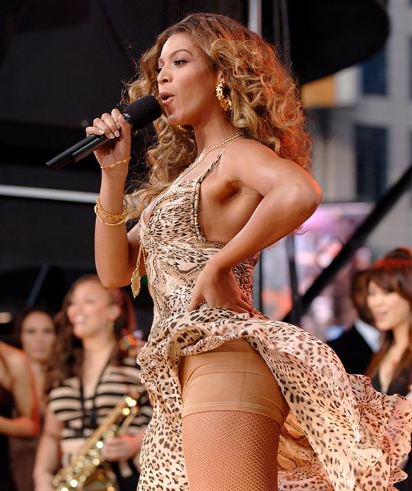 The stunning Beyonce is just like the rest of us when it comes to finding flatting clothing.