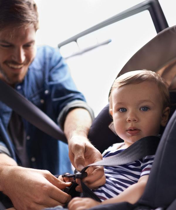 Safety experts recommend keeping your children in a rearward facing restraint for as long as possible. *Image: Getty Images.