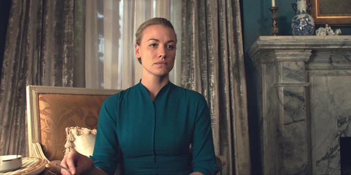 **YVONNE STRAHOVSKI: A YEAR OF BLESSINGS** <br><br> The Sydney-born actress has been working steadily in Hollywood for a decade now, with lead roles in *Chuck* and *Dexter* in an impressive portfolio.  <br><br> But then the stern and often terrifying Serena Joy Waterford in *The Handmaid's Tale* came along and catapulted Yvonne to dizzying heights of stardom.  <br><br> A stellar year, 2018 gave the 36-year-old her first Emmy nomination – and her own baby boy. Blessed be the fruit!