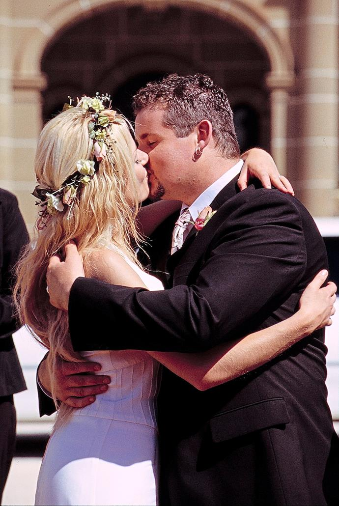 **4) TOADIE MARRIES DEE** <br><br> Ramsay Street rejoiced when Toadfish asked lovely Dee (Madeleine West) to be his wife in 2003.  <br><br> Tragically, however, moments after the ceremony, their car plunged off a cliff and poor Dee was lost at sea forever – or so it seemed...