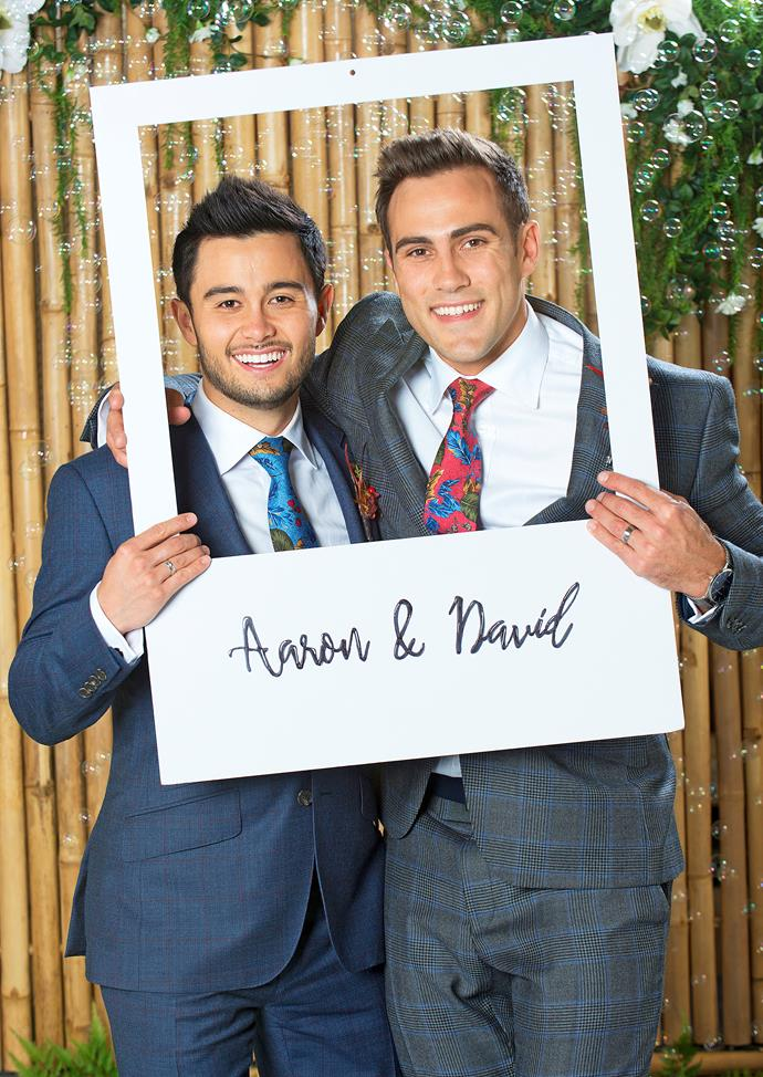 **6) NEIGHBOURS MAKES HISTORY WITH SAME-SEX WEDDING**  <br><br> Erinsborough loves a wedding, but one of the most special was this year's same-sex nuptials between David Tanaka (Takaya Honda) and Aaron Brennan (Matt Wilson).  <br><br> Magda Szubanski playing the celebrant was a bonus.