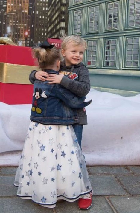Birthday hugs! *(Image: @hshprincesscharlene Instagram)*