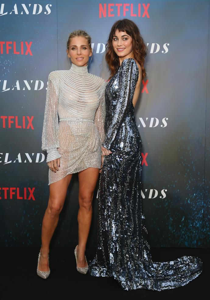 Elsa Pataky and Charlotte Best at the *Tidelands* premiere in Sydney (Image: Getty)