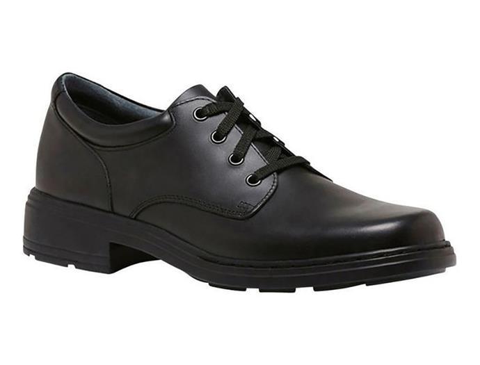 "[Clarks school shoes](https://www.myer.com.au/p/infinity-450989470-1|target=""_blank""|rel=""nofollow""), $139.95"