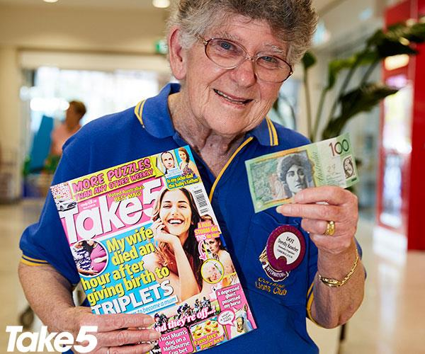 **Dorothy Rauscher, 74, Corrimal** <br><br> What? I've never won anything before.  <br><br> Maybe my luck is changing now? I'm going to a wedding soon so I can use this money to buy myself a nice dress to wear.  <br><br> I've just been diagnosed with Parkinson's disease six weeks ago.  <br><br> It won't stop me volunteering for the Lions Club and Cancer Council, though.  <br><br> I'm not going to let Parkinson's defeat me.  <br><br> I just want to carry on as normal.