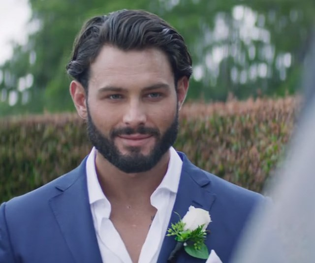 Budding actor Sam Ball definitely looks ready for marriage! *(Image: Channel Nine)*