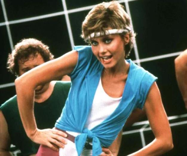 """Take a leaf out of Olivia Newton John's book and (""""Let's) Get Physical""""! *(Source: MCA Records)*"""