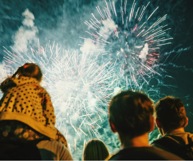 Planning ahead will make things run a lot smoother for you on Fireworks nights. *Image: Getty Images.*