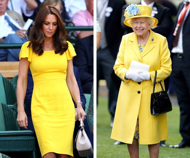 "This colour is a royal staple (ahem, Duchess [Meghan Markle](https://www.nowtolove.com.au/royals/british-royal-family/meghan-markle-yellow-dress-49723|target=""_blank"")), but it sure brings some sunshine! *(Source: Getty Images)*"