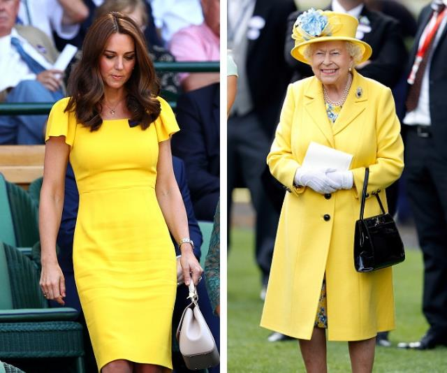 """This colour is a royal staple (ahem, Duchess [Meghan Markle](https://www.nowtolove.com.au/royals/british-royal-family/meghan-markle-yellow-dress-49723