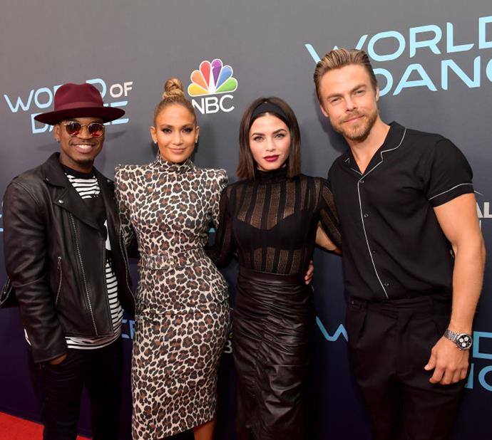 The *World of Dance* cast. *(Source: Getty Images)*