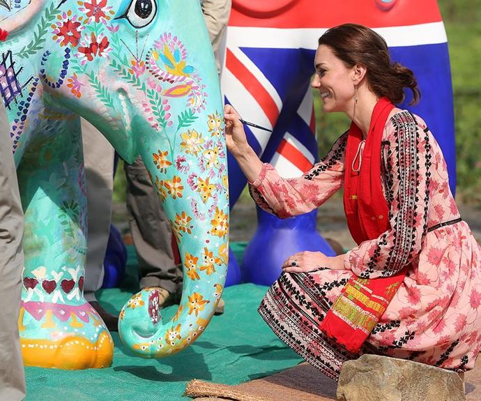 Duchess Catherine has always had an artistic flair. *(Image: Getty Images)*