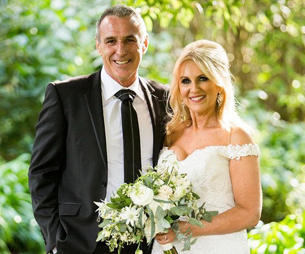John and Melissa tried to make it work in the real world but announced their split in March. *(Image: Nine Network)*
