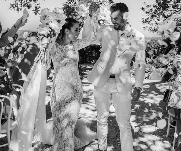 Snezana and Sam Wood, the second *Bachelor* couple to get married from the Aussie series. *(Source: Instagram/Snezana Wood)*