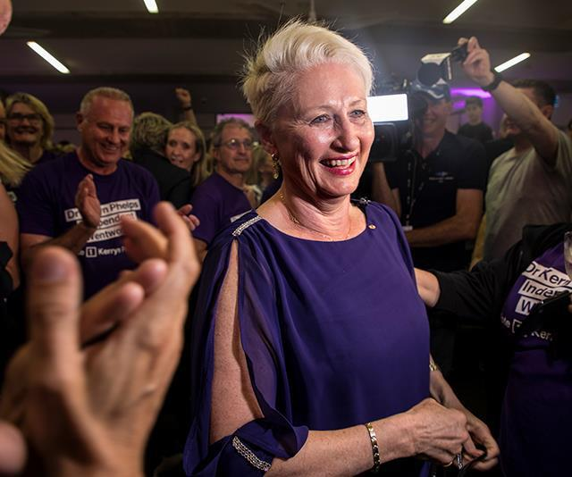 Dr Kerryn Phelps stormed to victory at the Wentworth by-elections. *(Image: AAP)*