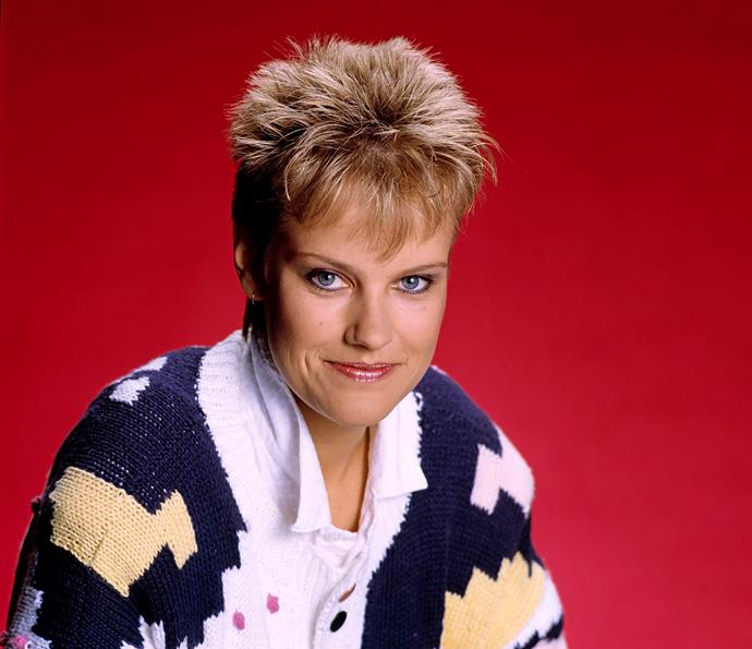 **15) DAPHNE'S SHOCKING DEATH** <br><br> In 1988, *Neighbours* producers showed just how far they were prepared to go when Daphne Clarke (Elaine Smith) – one of the original characters and one of the most-loved – died in the arms of her husband Des.