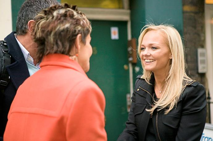**22) A VERY SPICY CAMEO** <br><br> Spice Girl Emma Bunton appeared as herself in the show in 2007.  <br><br> She returned the engagement ring Karl had dropped – he was going to propose to Susan with it. When Susan realised who Karl was talking to, she was thrilled.