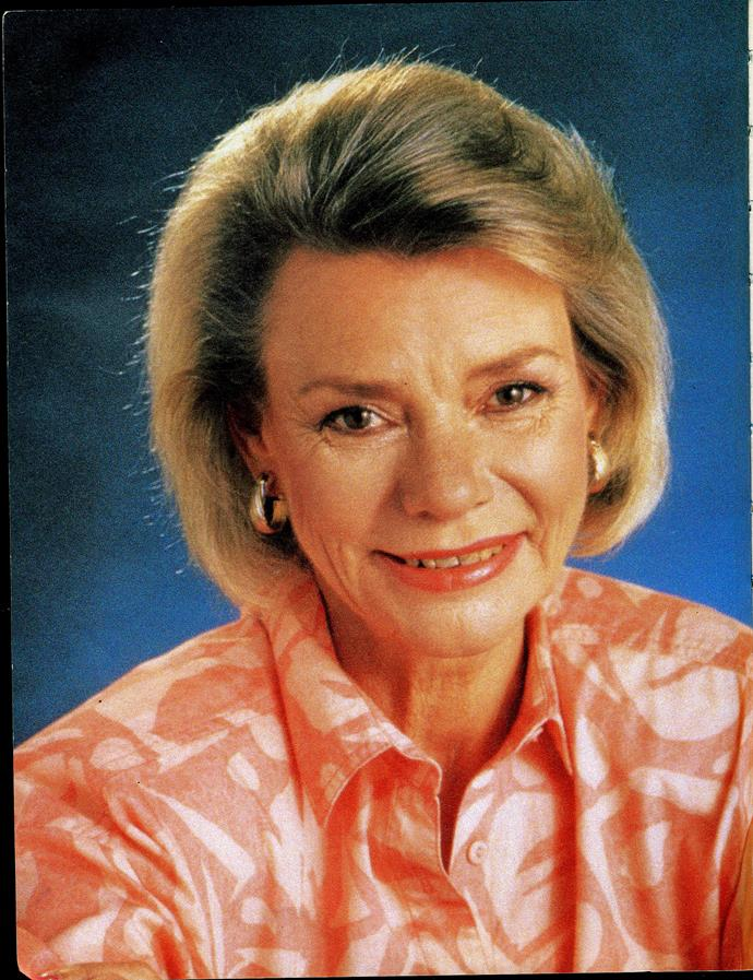 **43) MATRIARCH HELEN'S DEATH** <br><br> It was the end of an era for *Neighbours* when Helen Daniels (Anne Haddy) died in 1997.  <br><br> She was the last remaining character from the show's original 12 and had appeared in 1656 episodes.  <br><br> Helen died peacefully at home with her friends around her after watching a video of Scott (Jason Donovan) and Charlene's (Kylie Minogue) wedding.