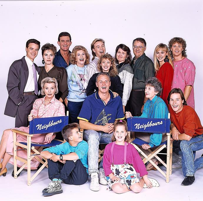 **47) THE AUSSIE SHOW THAT TAKES OVER THE UK** <br><br> *Neighbours* was bought by the BBC in 1986 and quickly became one of the UK's most popular dramas. Up to 16 million people – more than the population of Australia at the time – tuned in to watch.